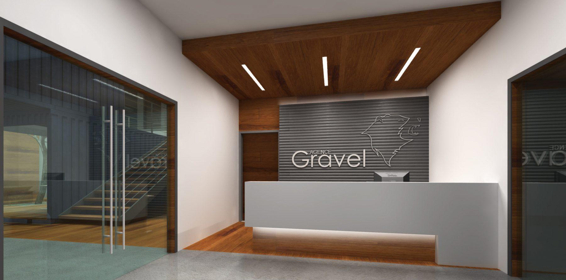 Agence gravel quanta architecture for Architecture et design d interieur